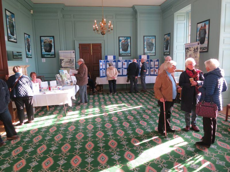 Launch of 'Radley Manor and Village: a thousand year story' at The Mansion, Radley College, on 30 November 2019