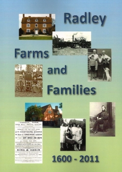 Front cover of Radley History Club's book, 'Radley Farms and Families 1600-2011'
