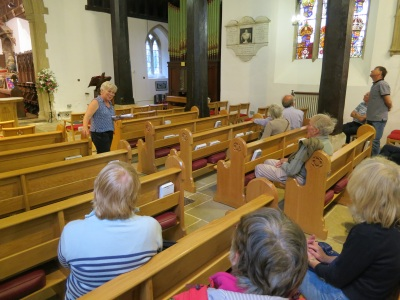 Felicity Henderson talks about the interior of the Church