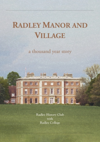 Front cover of 'Radley Manor and Village: a thounsand year story'