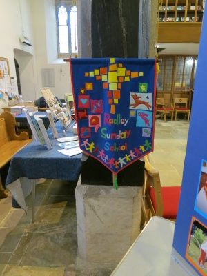 Sunday School banner