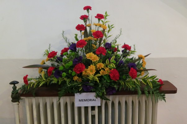 Floral arrangement - memorial