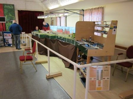 The full layout of the Abingdon Branch line