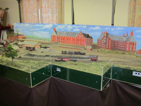 Abingdon branch layout by Abingdon and District Railway Club