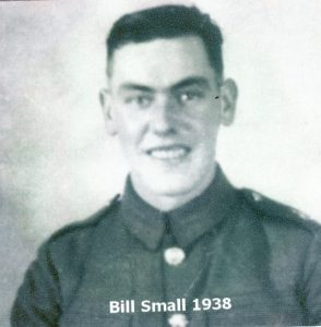 Photograph of Bill Small taken in 1938 in his Terretorial Army uniform
