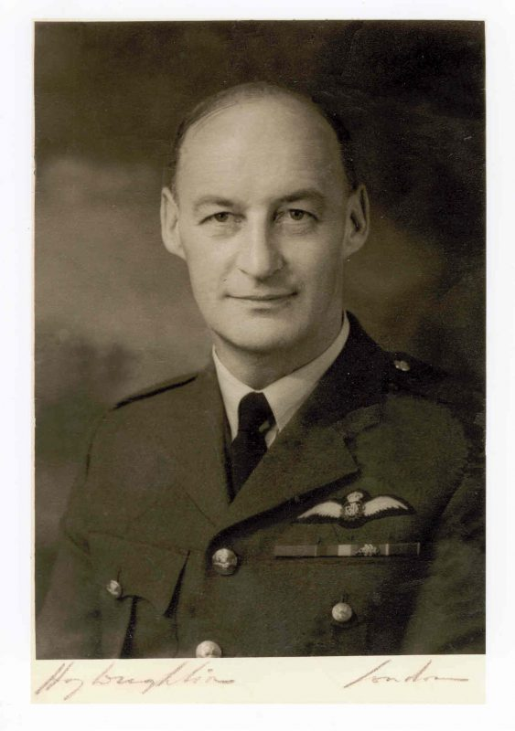 Photograph of Charles Lockett in his RAF uniform