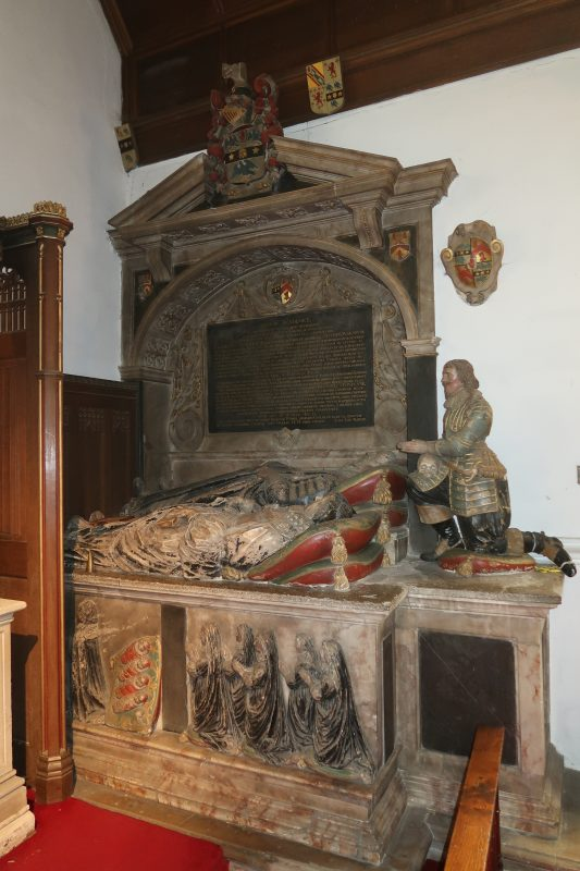 Stonhouse monument in Radley Church