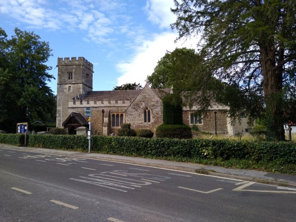 Church of St James the Great, Radley, August 2020