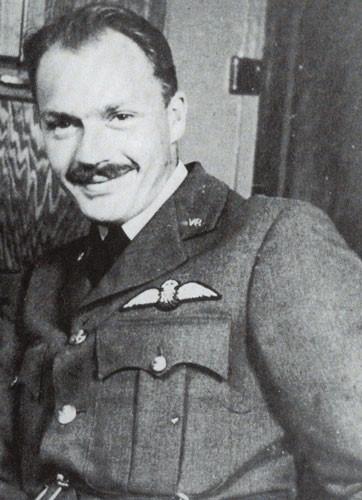 Peter Hairs in RAF uniform