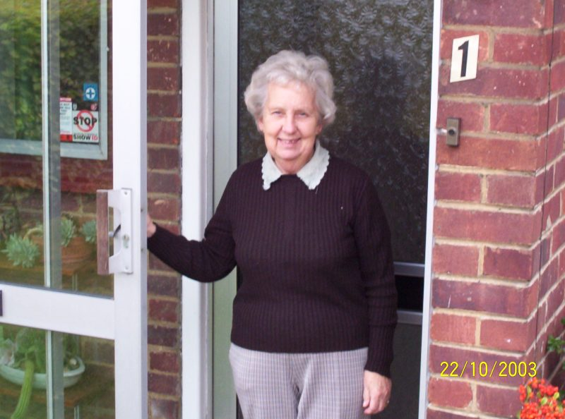 Beryl Buckle pictured in 2005