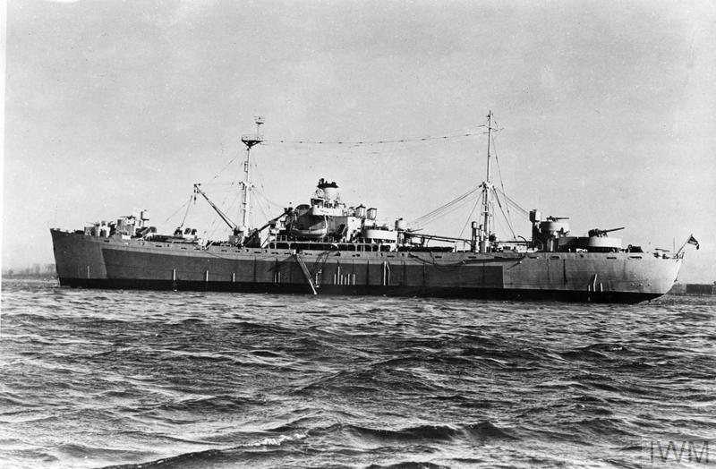 HMS Assistance (© Imperial War Museum)