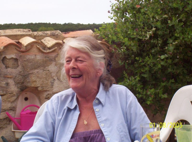 Photograph of Nancy Homewood pictured in August 2005