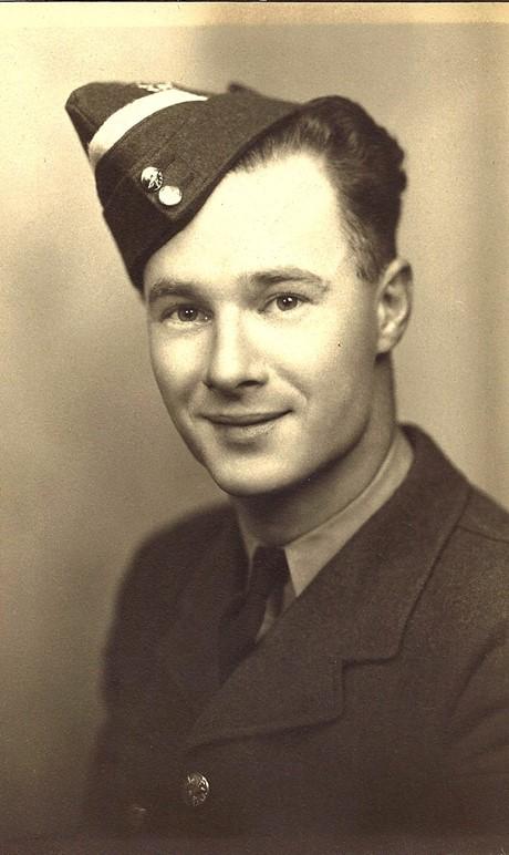 Christine's uncle, Flight Lieutenant Arthur Edwards