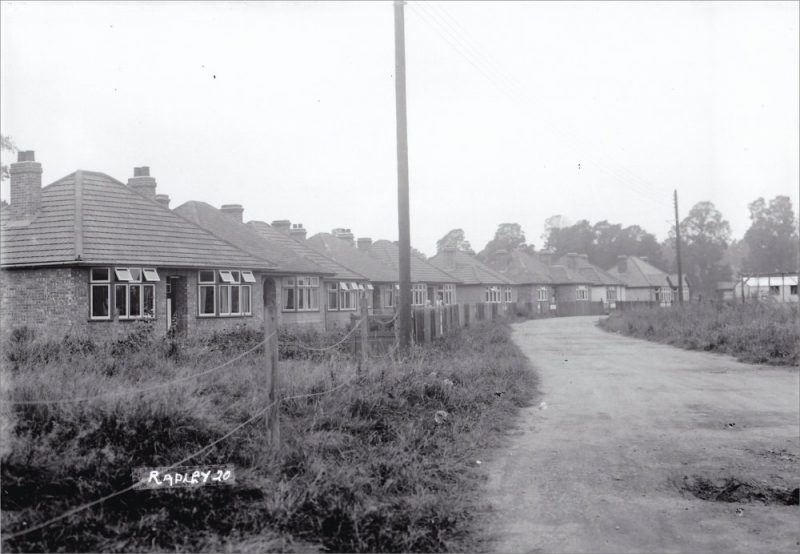 Bungalows in New Road, 1930s