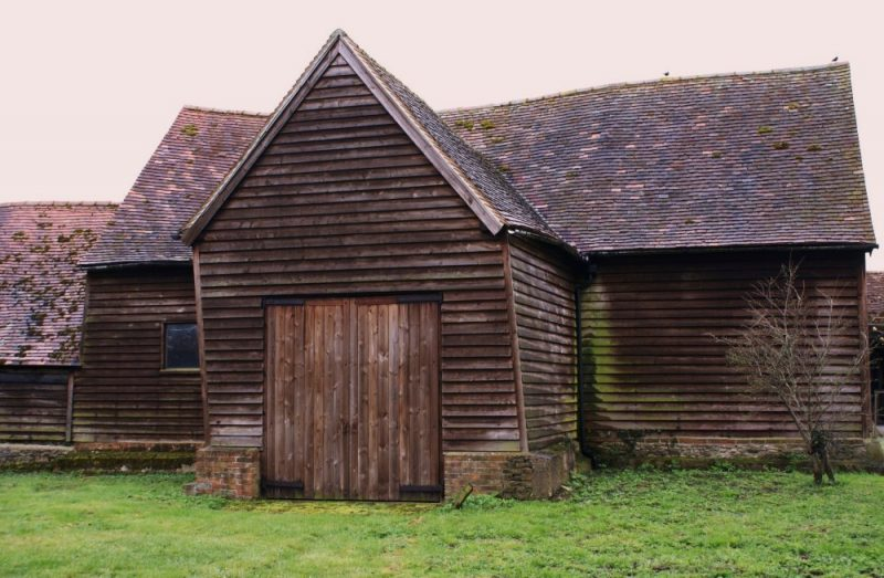 18th century barn at 87 Lower Radley