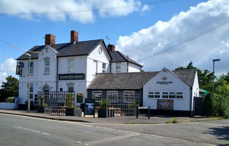 Radley's pub, the Bowyer Arms, pictured in August 2021