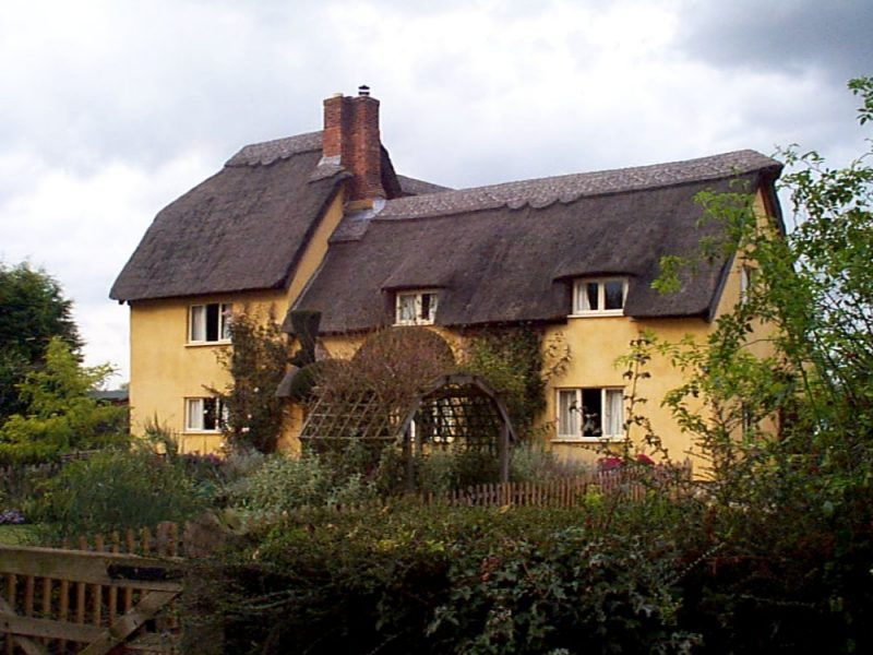 Peacock Cottage pictured in November 2006