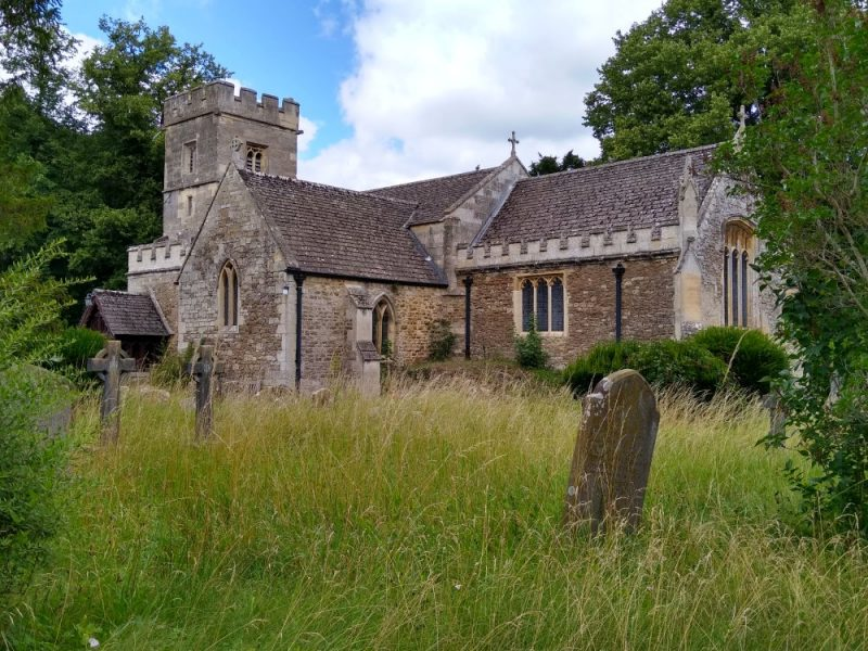 Church of St James the Great, Radley, August 2021