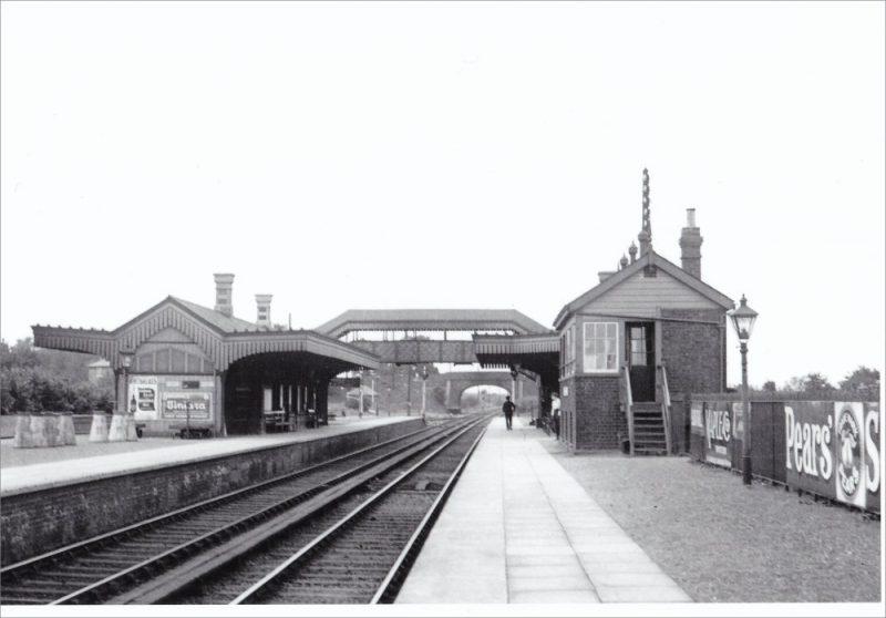 Radley Station looking north, 1930s