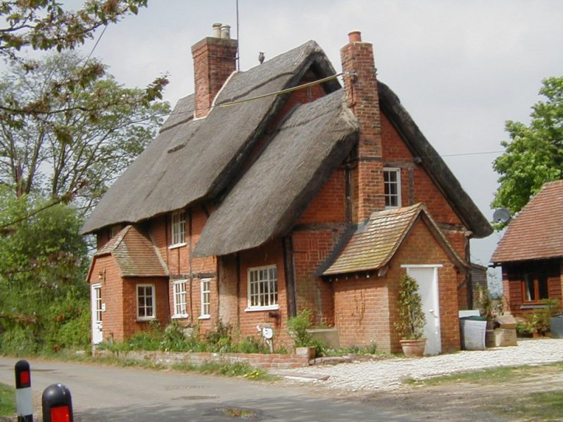Spinney's Cottage, April 2003