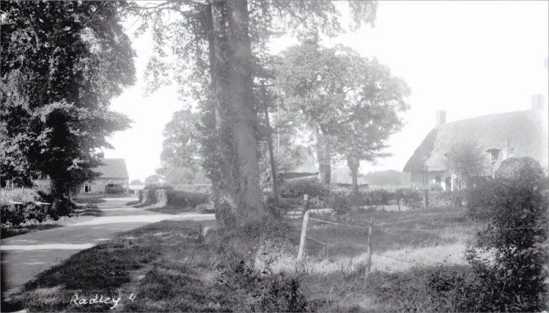 Towards Neat Home Farm, Radley, 1930s