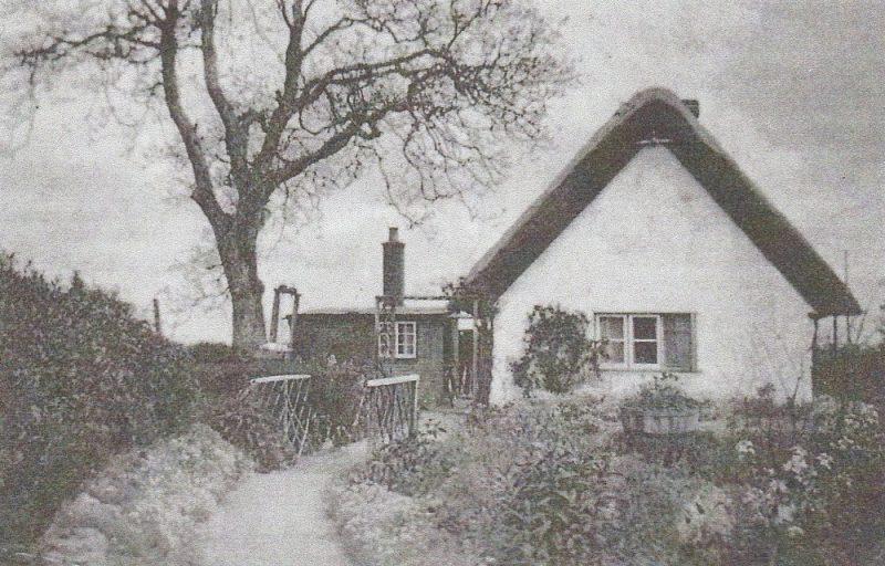 Walnut Cottage, Radley, pictured in 1939
